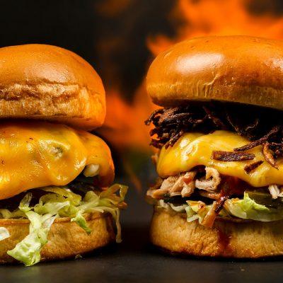 Elementor Template - Burger Restaurant